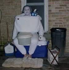 Toilet Halloween Costume Worst Halloween Costume Masscops