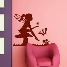 elfe auf pilz mit stern für wohnzimmer u0026 kinderzimmer wandtattoo