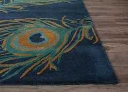 Peacock Area Rugs National Geographic Peacock Blueashes Bayou Area Rug Froy
