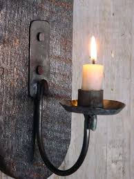 Wall Sconces Rustic Sconce Rustic Metal Candle Wall Sconces Wrought Iron Candle