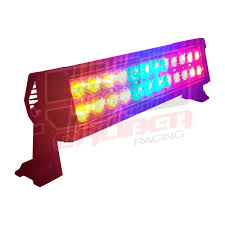 Led Blue Light Bar by Multicolor Flashing 12 Inch Led Light Bar With Wireless Remote For