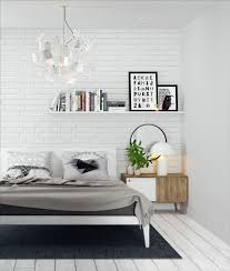 Feature Wall by Bedrooms With Exposed Brick Walls