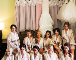 bridesmaids robes cheap cheap wedding robes etsy