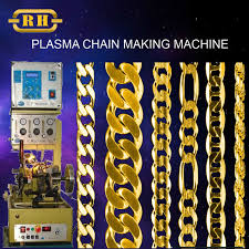 make gold chain bracelet images Double curb chain making machine buy chain making machine gold jpg