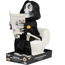 where can i buy cheap halloween decorations animated bathroom reaper halloween decoration walmart com
