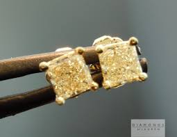 real diamond earrings for men checking the originality of yellow diamond earrings for men