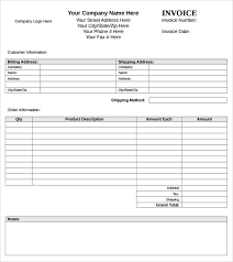sample microsoft invoice template 14 download free documents in