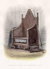 Stone Chair Coronation Chair Wikipedia