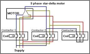 wiring diagram wiring diagram 3 phase star delta starter wiring