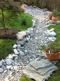 great dry creek bed landscaping ideas garden decors