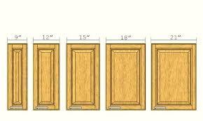 Cabinet Door Sizes Kitchen Cabinet Door Sizes Standard What Is The Height Home
