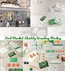 food templates free download templates free download cgispread part 38 food market branding mockup
