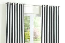 Black White Stripe Curtain Black And White Striped Drapes Image Of Horizontal Striped
