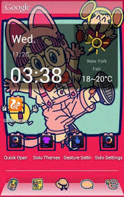 lenovo launcher themes download download cute arale theme for lenovo for android cute arale theme