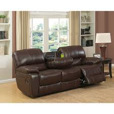 Black Leather Sofa Recliner Furniture White Costco Leather Sofa On Cozy Pergo Flooring For