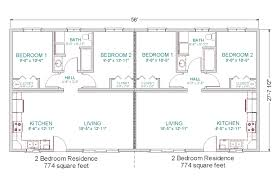 four bedroom house floor plans 50 four 4 bedroom apartment house plans within 20 alovejourney me