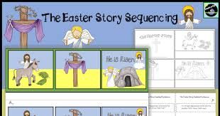 the christmas story order the pictures sentences differentiated