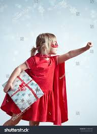 super gifts super kids special delivery stock photo 524842996