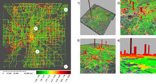 Az City Map Study Maps Greenhouse Gas Emissions To Building Street Level For
