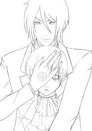 undertaker coloring pages black butler coloring pages