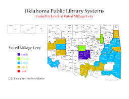 Map Of Oklahoma State by Oklahoma Public Libraries And Systems Maps U2013 Ok Dept Of Libraries