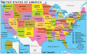 anerica map usa political map political map of usa political usa map