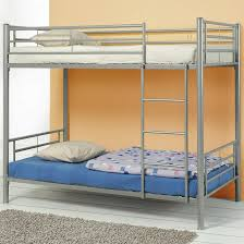 White Metal Bunk Bed Grey Metal Bunk Bed Coco Furniture Gallery Furnishing Dreams