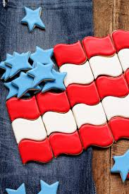 Flag Cookie Cutter How To Make These Fun And Fabulous Flag Cookies The Bearfoot Baker