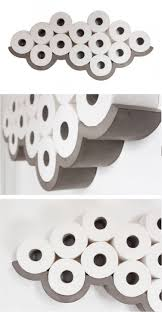 novelty toilet paper holder 30 creative ways to store toilet paper ritely