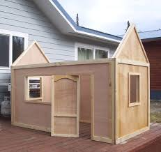 Simple Wood Project Plans Free by Best 25 Playhouse Plans Ideas On Pinterest Kid Playhouse