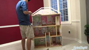 How To Make Dollhouse Furniture Out Of Household Items Kidkraft Majestic Mansion Dollhouse With Furniture Unboxing And