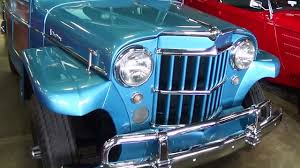 willys jeepster for sale 1960 jeep willys overland 4x4 fast lane classic cars youtube