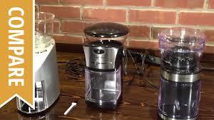 Coffee Grinders Reviews Ratings Compare Jura Capresso Coffee Grinders Youtube