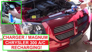 how to recharge the air conditioner on dodge magnum dodge charger