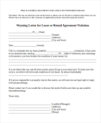 warning notice template 7 free word pdf document downloads