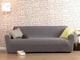 housse de canapé extensible pas cher articles with housse de canape 3 places gris clair tag protege