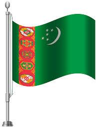 Flag Of Turkmenistan Turkmenistan Flag Png Clip Art Best Web Clipart