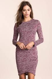women u0027s casual dresses marled sweater dress a u0027gaci