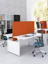 cloisonnette bureau bureau bench 2 personnes réglable en hauteur électrique delex