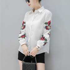 aliexpress com buy 2017 new spring women long sleeve blouse rose