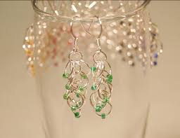 Cascading Bead Chandelier Earrings Express Top 100 Diy Jewelry Patterns How To Make Bracelets Necklaces