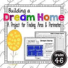 Build A Dream House Area And Perimeter Dream Home Editable Extensions Mondays And