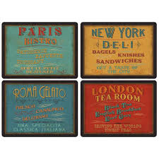 pimpernel lunchtime placemats 40cm 4 per pack from ocado