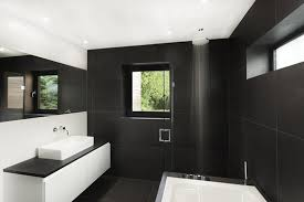 black and white bathroom design 5 black white bathroom designs for contrast