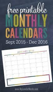 free printable planner calendar 2016 free printable planner calendar calendar template 2017