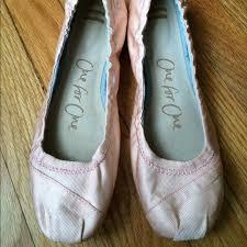 petal grosgrain toms toms shoes petal pink grosgrain wedding ballet flats poshmark