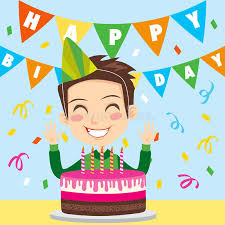 birthday boy happy birthday boy stock vector illustration of human 18377170