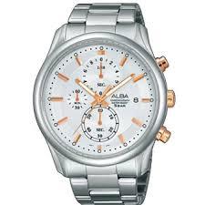 Jam Tangan Alba Af8n93 info penting alba am3147x1 jam tangan pria silver rosegold