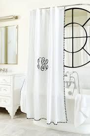 trending pom pom trim how to decorate pom pom shower curtain from ballard designs