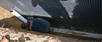 french drains direct waterproofing